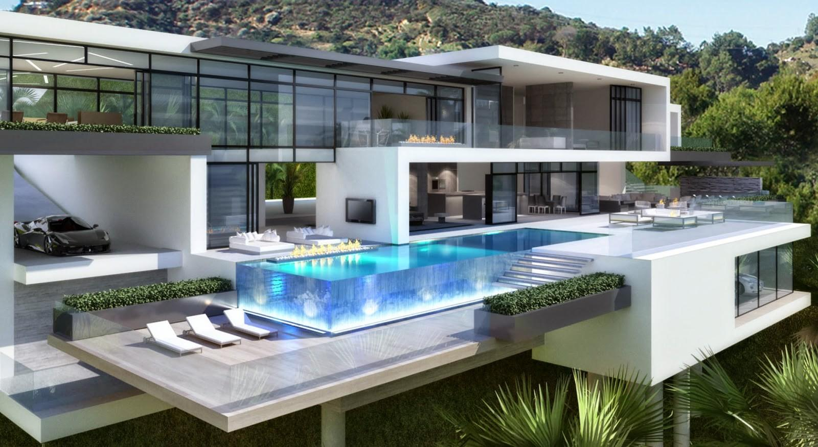 Passion Luxury Contemporary Mansions Sunset Plaza