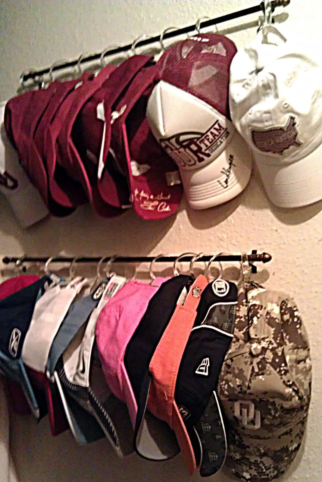 Passion Pink Pearls Baseball Cap Organization Diy