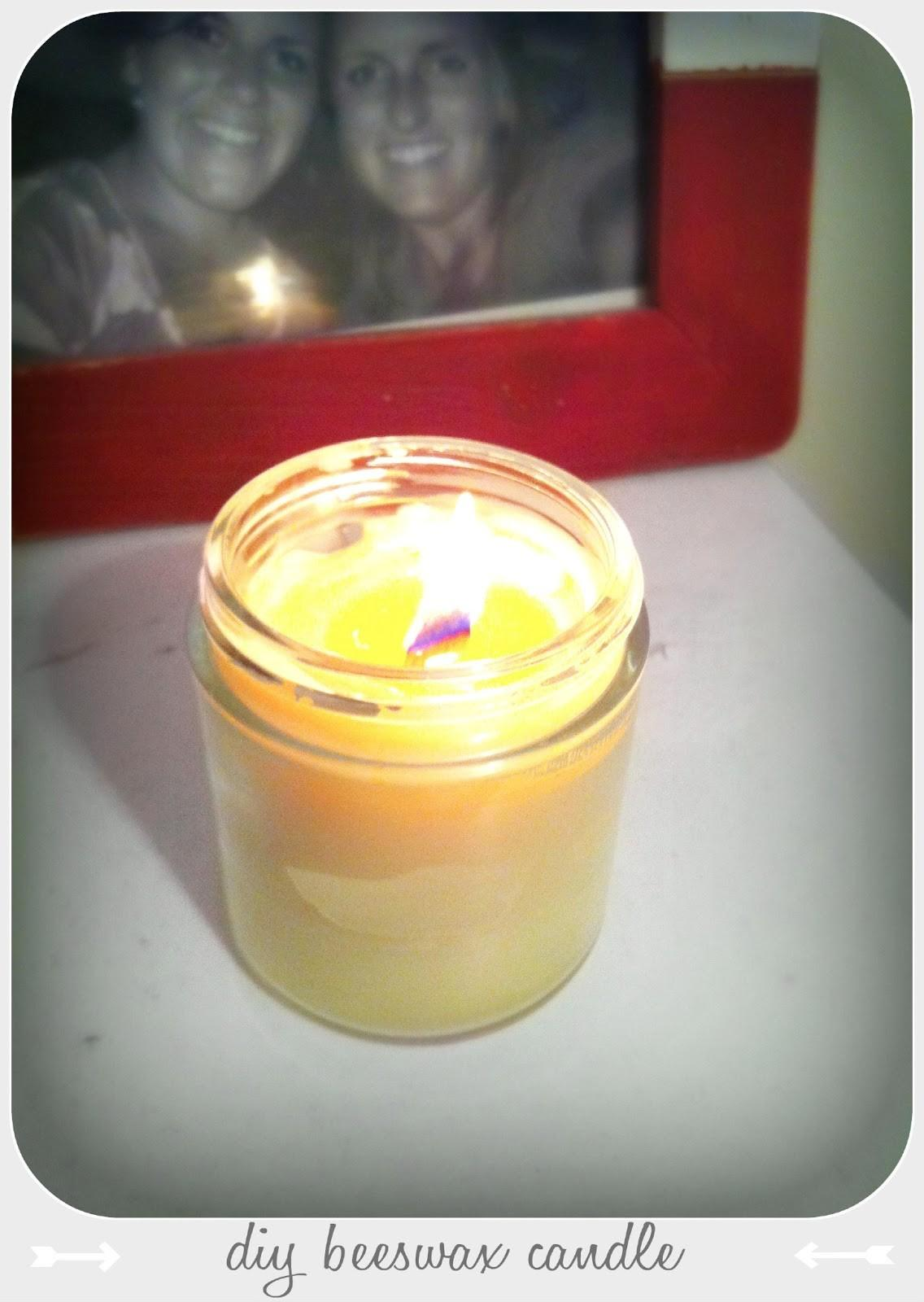 Past Tense Draw Saturday Diy Wood Wick Beeswax Candles