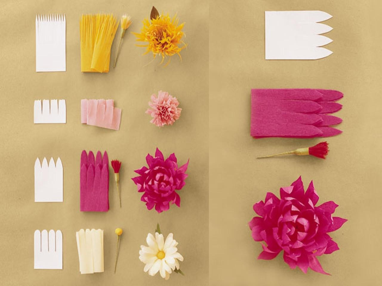 Pastel Christmas Decorations Diy Large Paper Flowers Easy