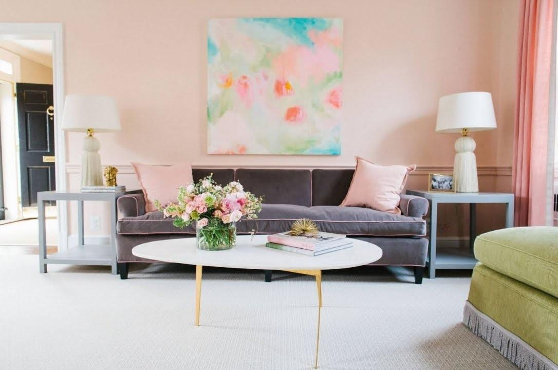 Pastel Colors New Home Interior Design Trends
