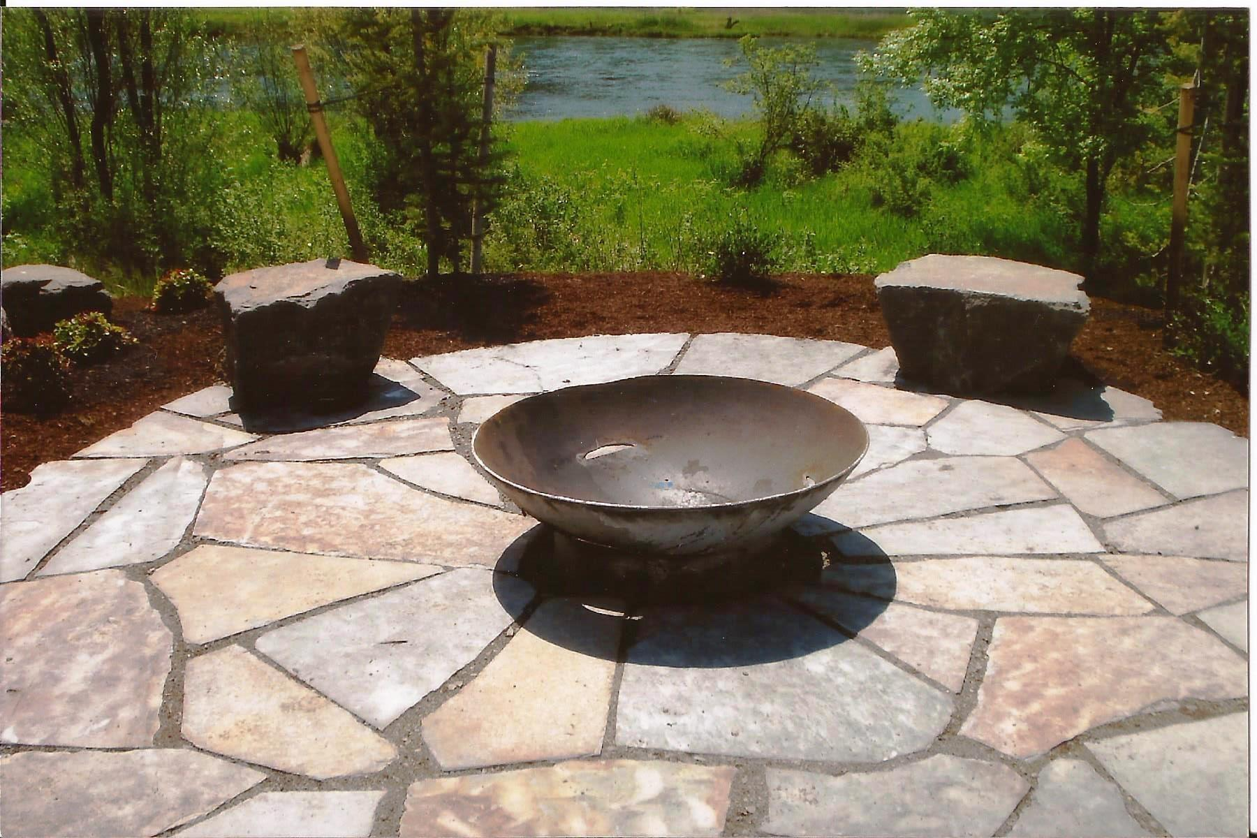 Paths Patios Frontier Landscaping