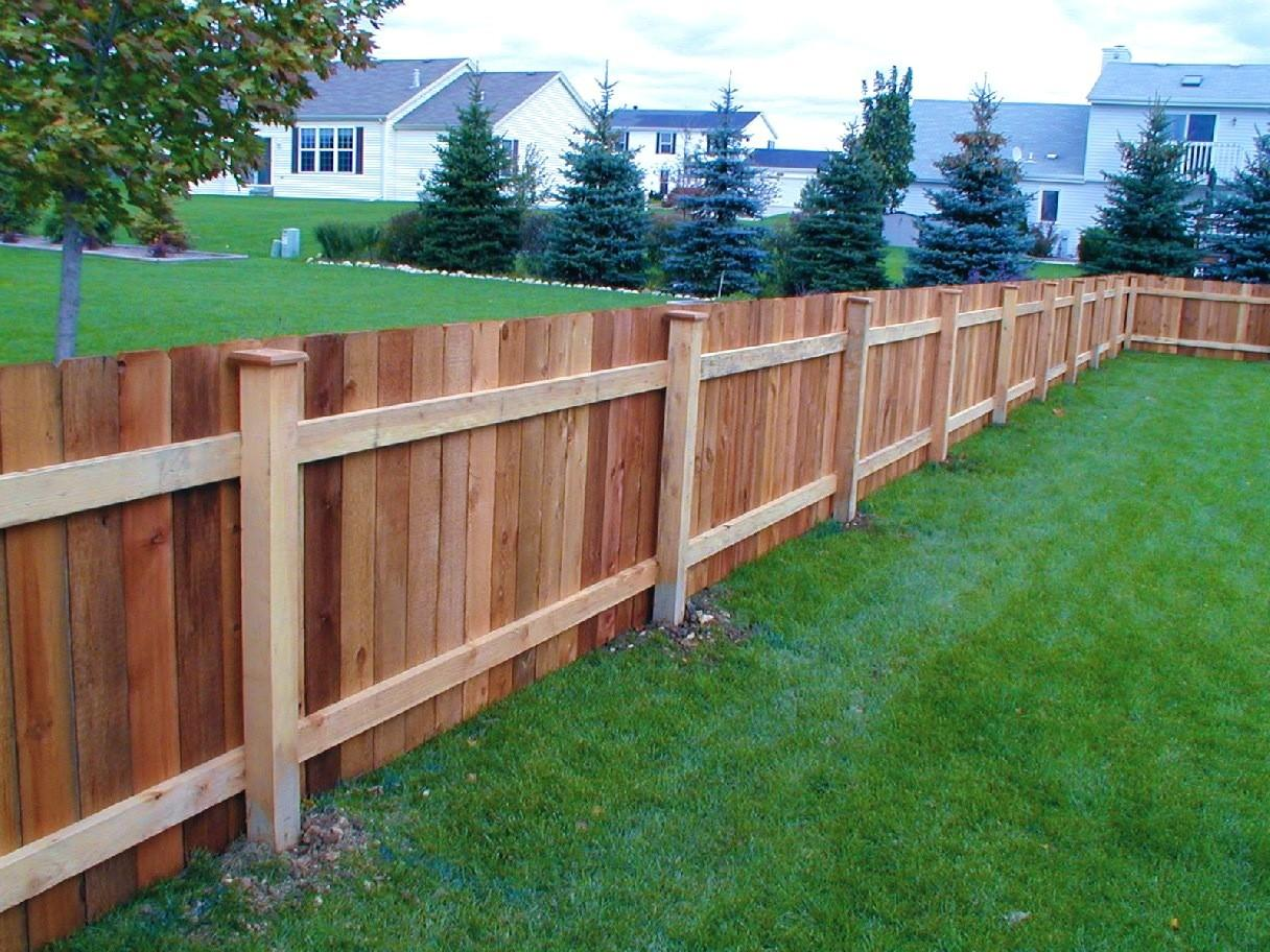 Patio Appealing Privacy Fence Styles Wood