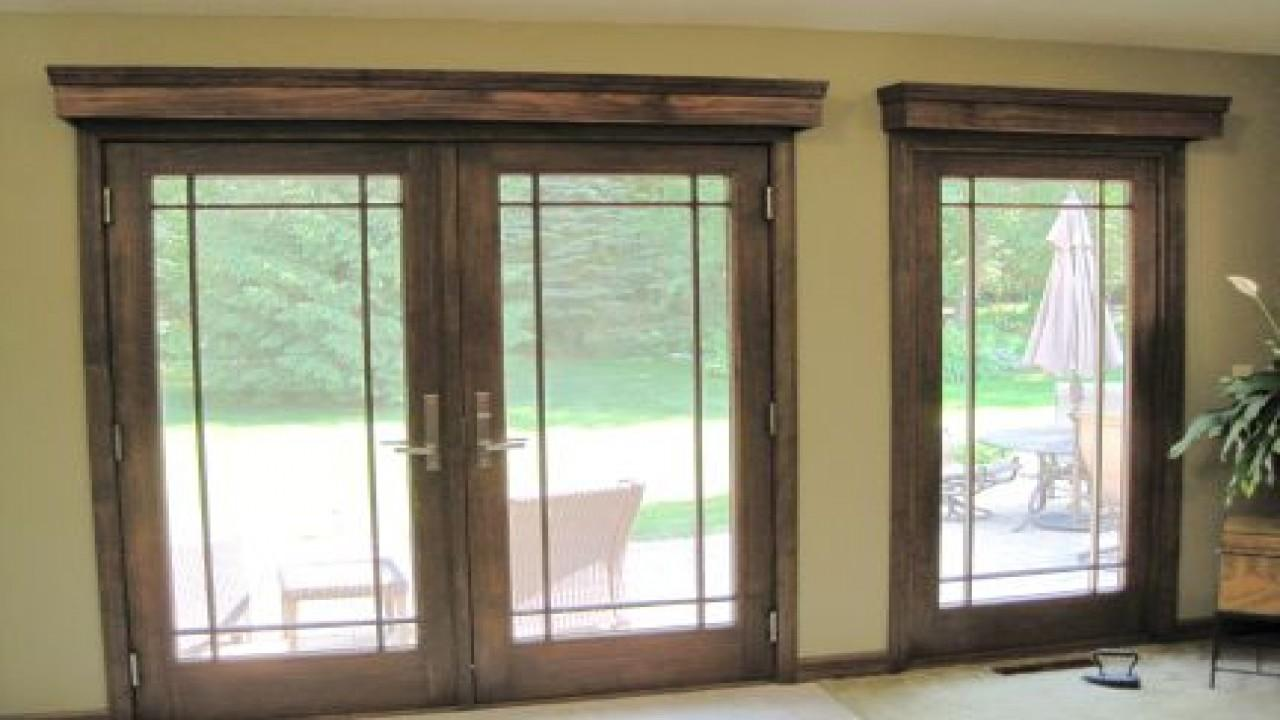 Patio Coverings Ideas French Door Window Covering