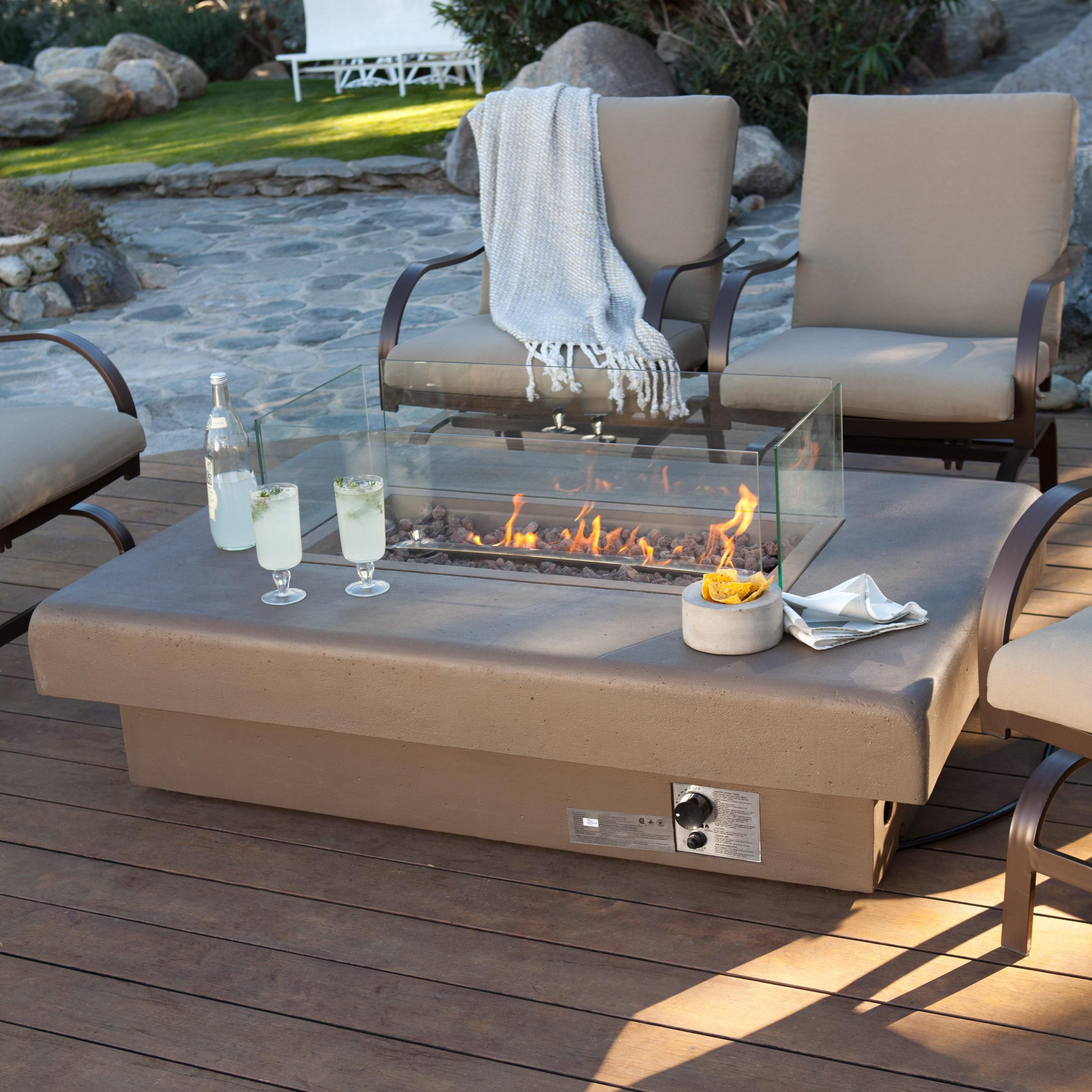 Patio Dining Table Gas Fire Pit Tips Before