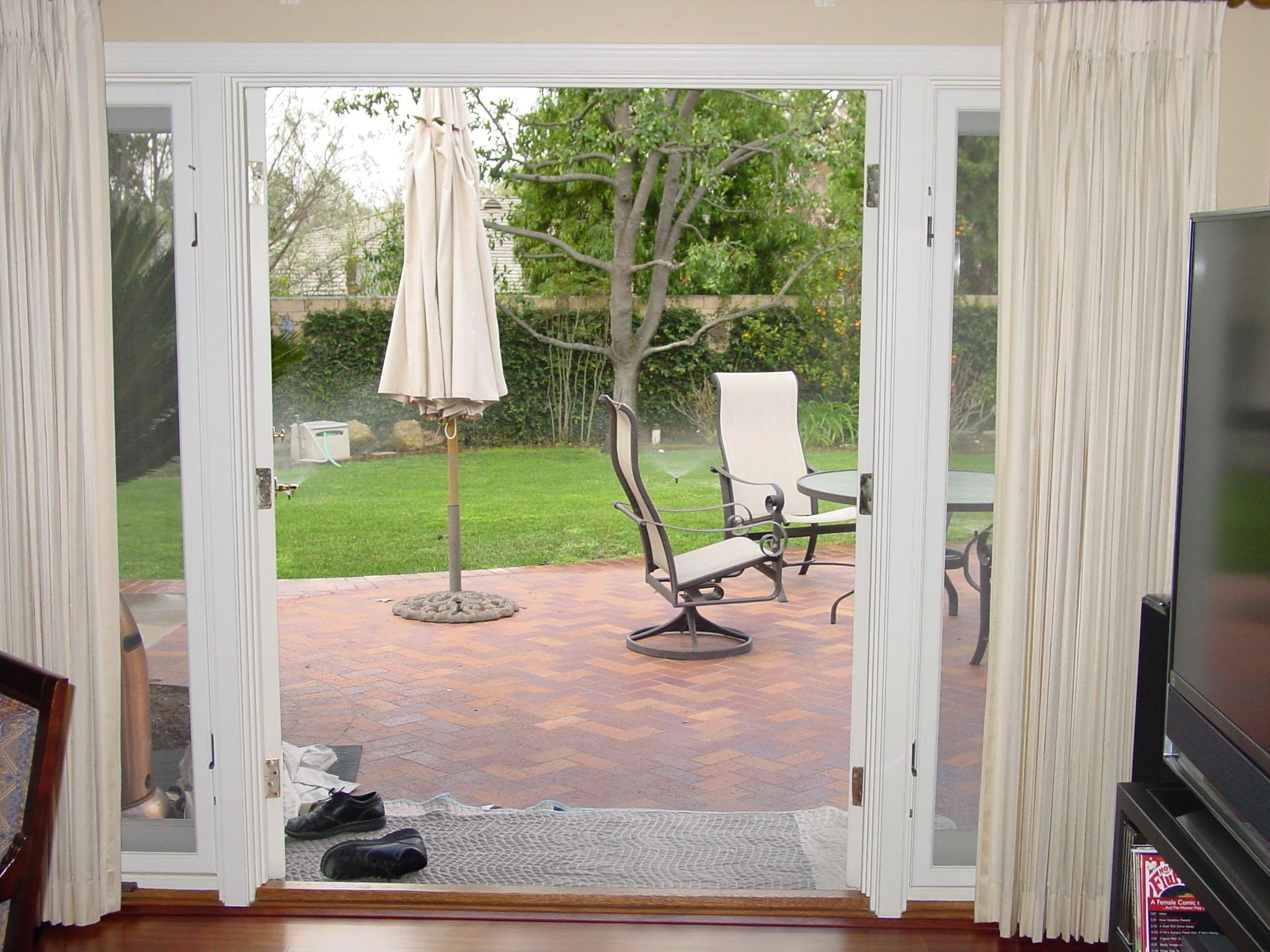 Patio Door Curtains Charming Exterior Home Redesign