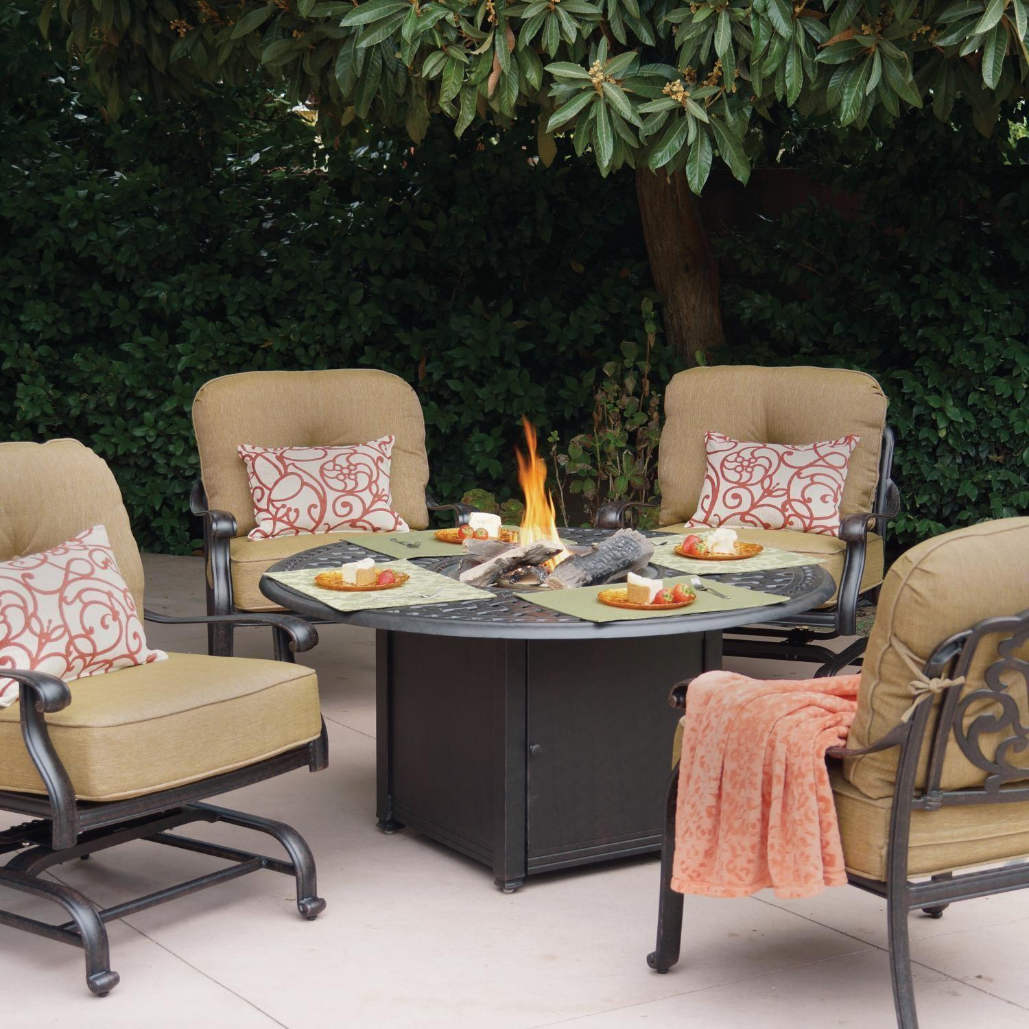 Patio Furniture Sets Fire Pit Fresh Darlee Elisabeth