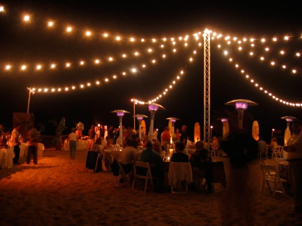 Patio String Lights Outdoor Woohome