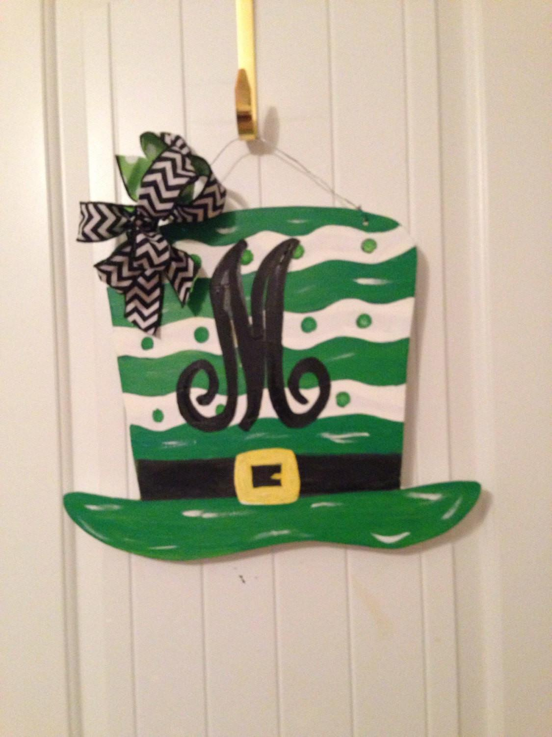 Patricks Day Door Hanger Wreath
