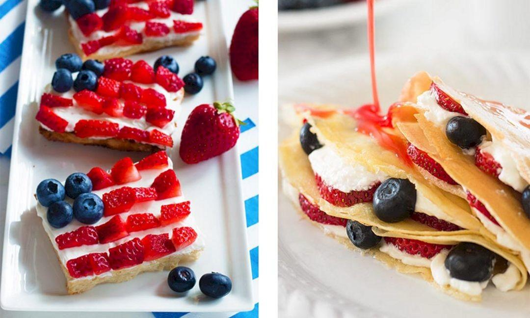Patriotic Desserts 4th July Montenr