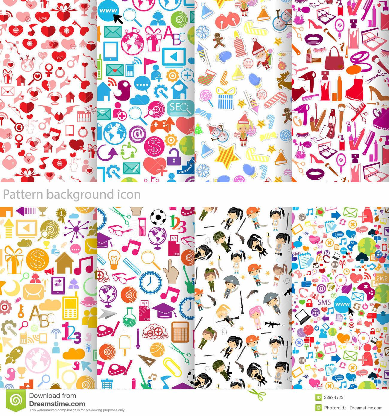 Pattern Icon Stock Vector