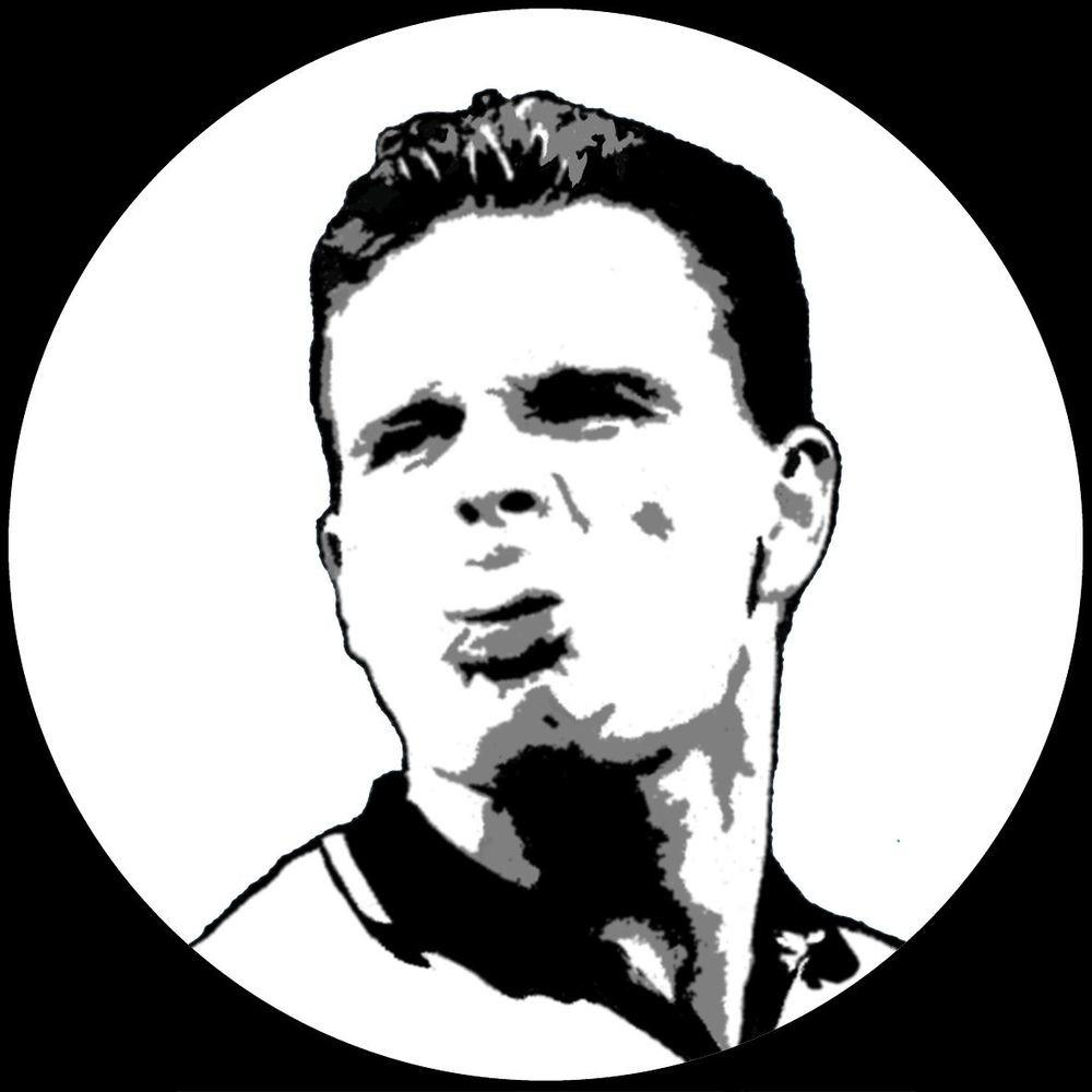 Paul Gazza Gascoigne Vinyl Record Wall Clock Pop