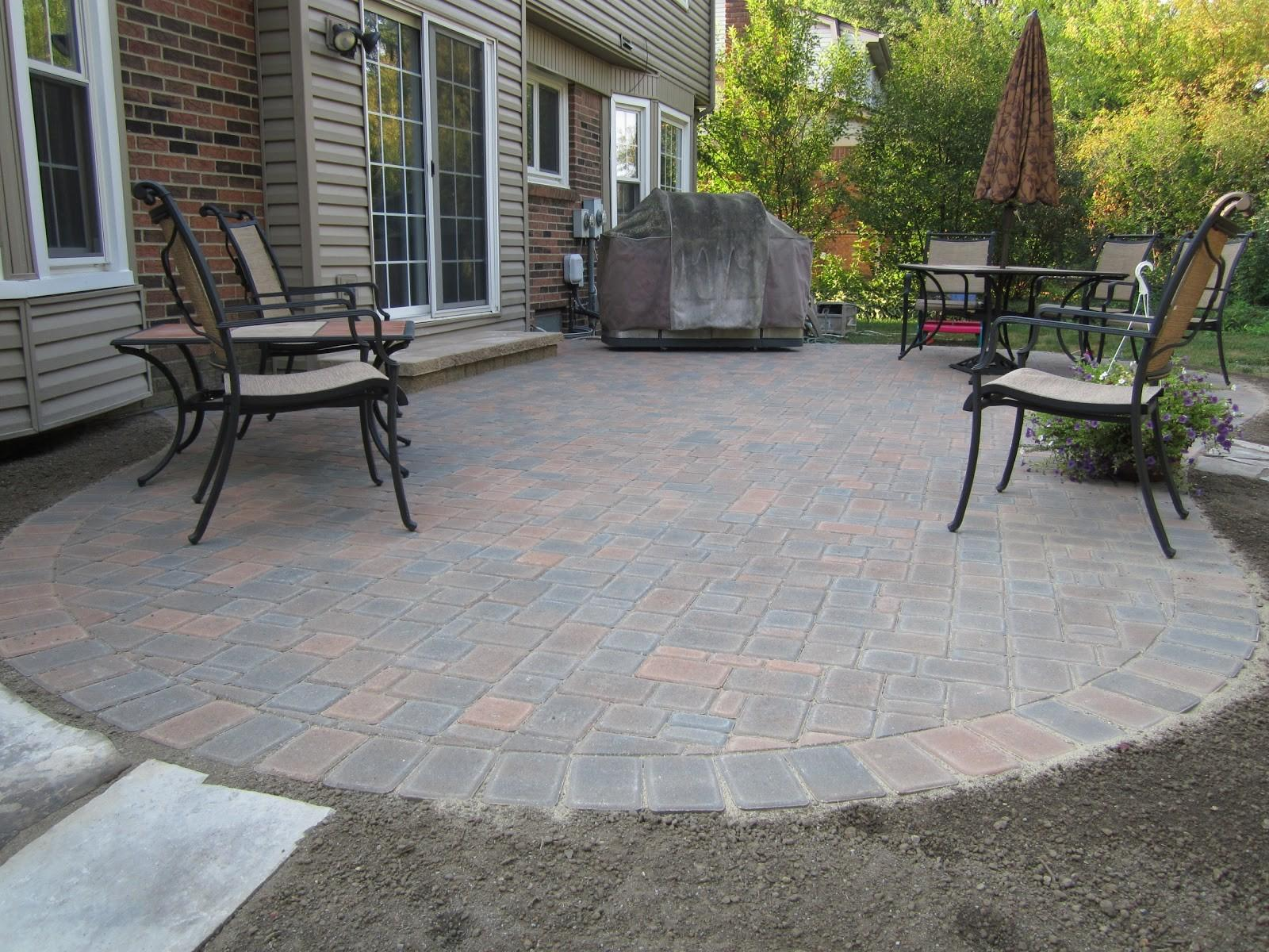 Paver Patio Maintenance Design Ideas