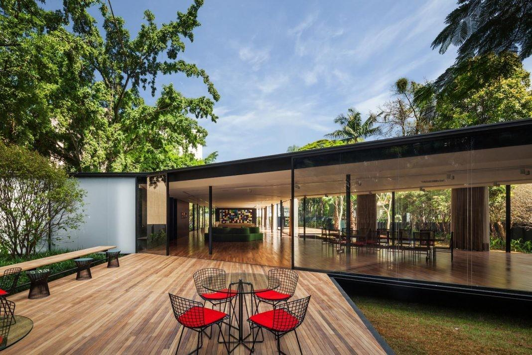 Pavilion Conceived Gathering Space Entertain