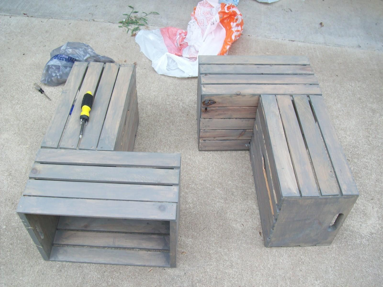 Pdf Diy Crate Coffee Table Instructions