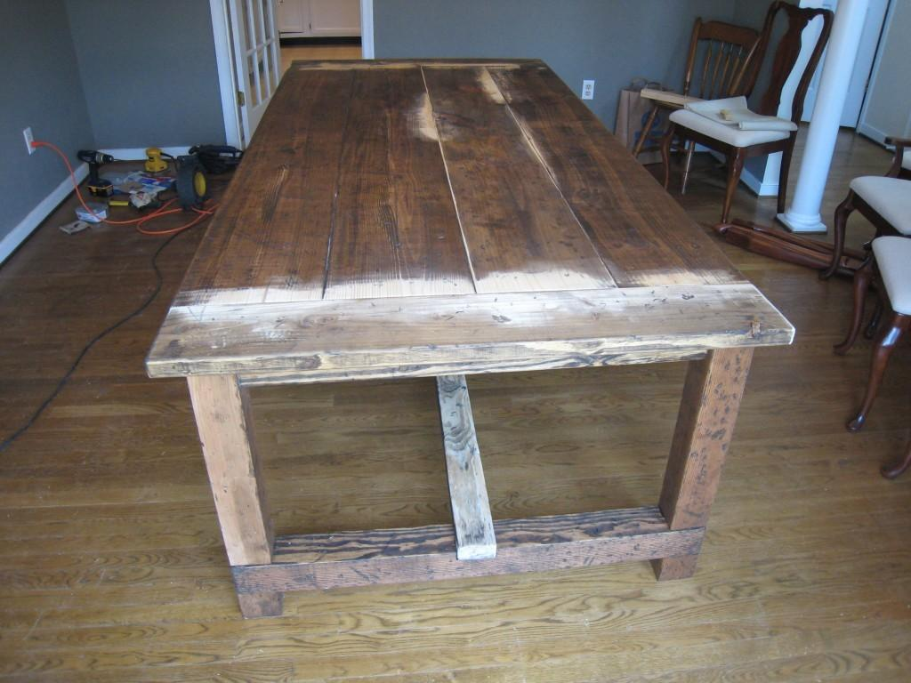 Pdf Diy Rustic Dining Table Plans