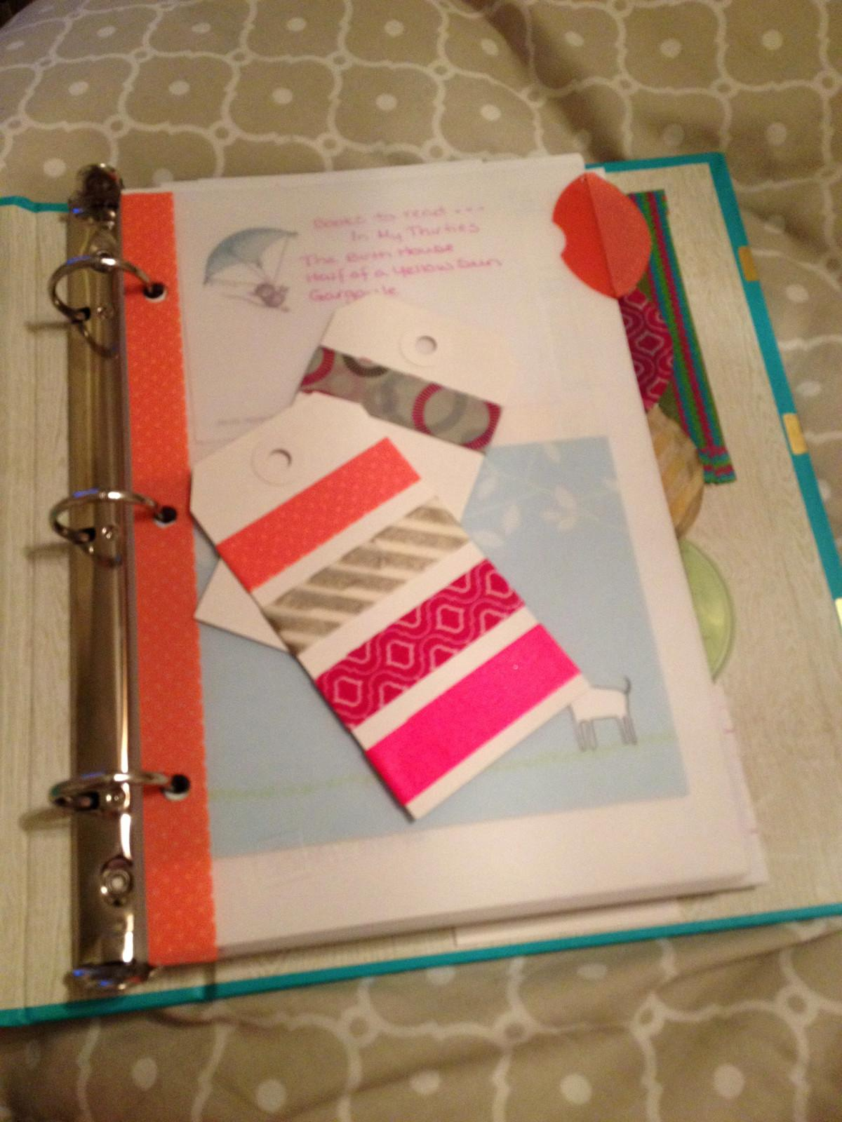 Peach Mint Diy Planner