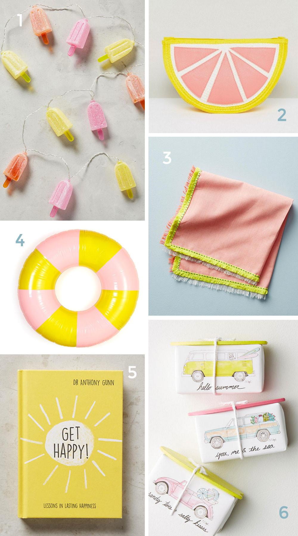 Peach Yellow Summer Must Haves Tell Love Party