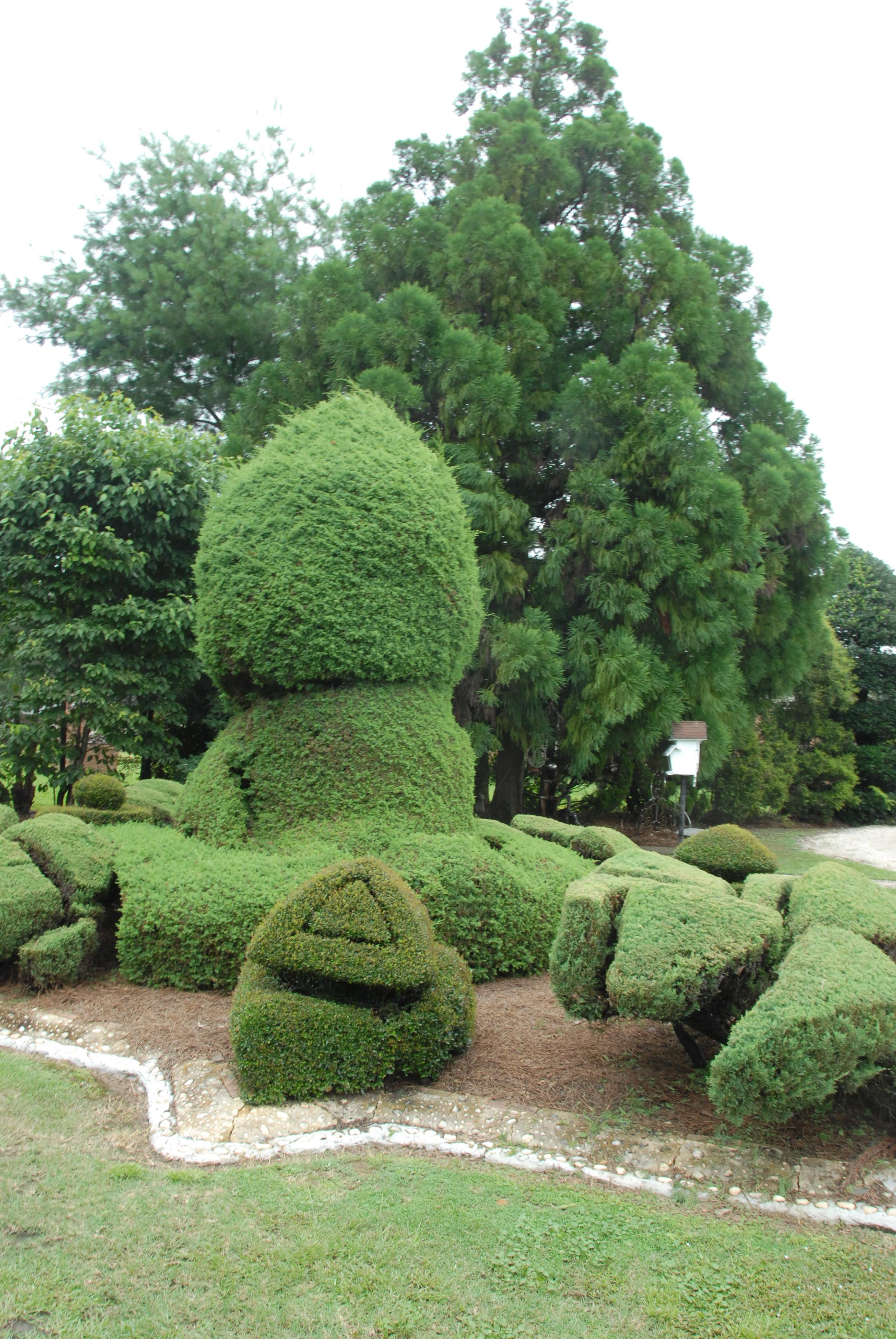 Pearl Fryar Form Topiary Style Unlike Any Other