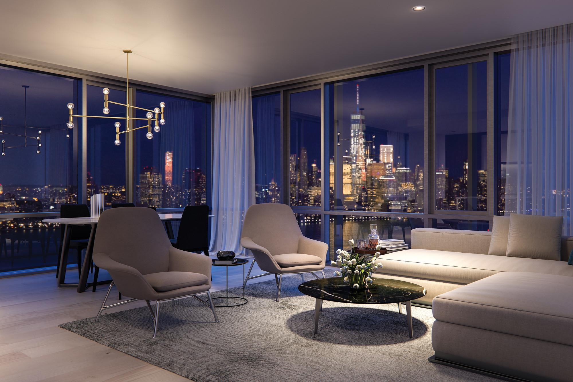 Peek Inside Park Shore Jersey City Ultra Luxury