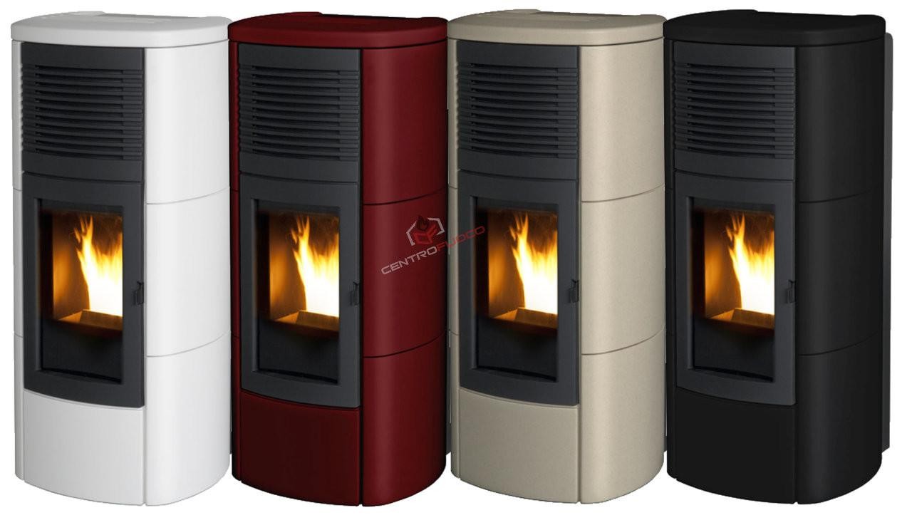 Pellet Stove Mcz Club 12kw Ductable Centro Fuoco