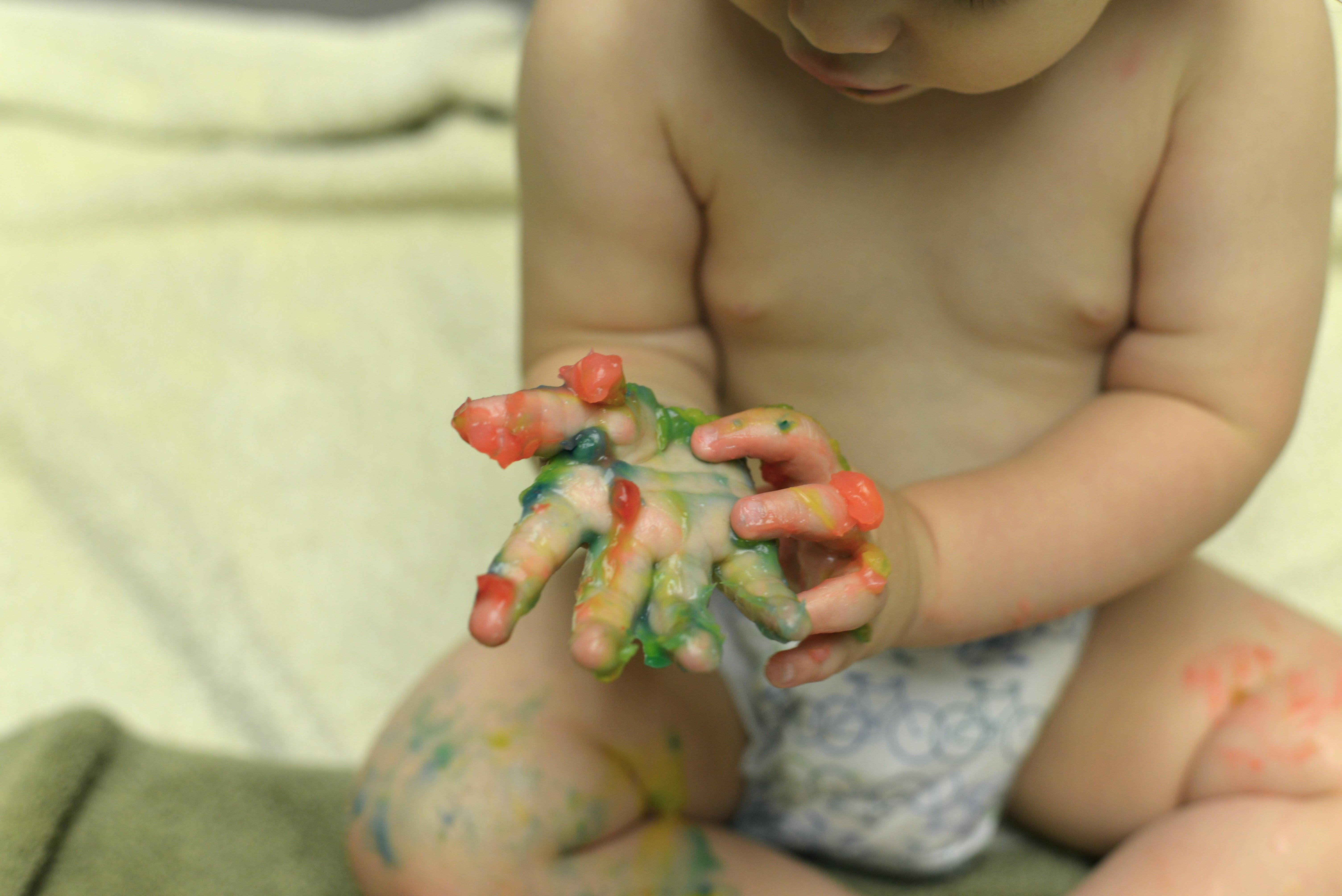 Pelli Way Diy Edible Finger Paint