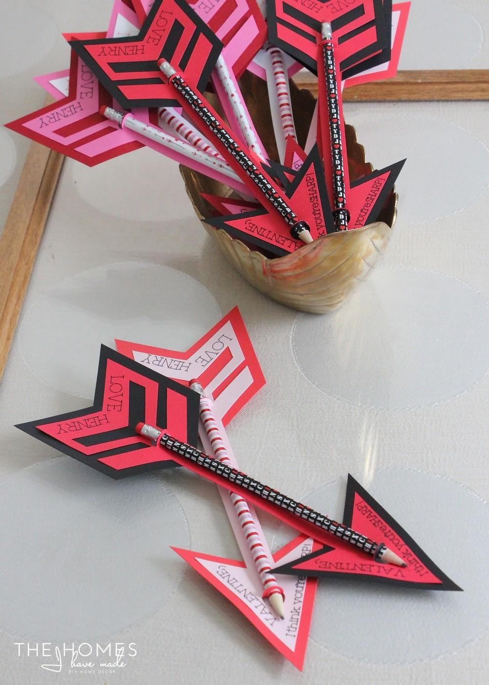 Pencil Arrow Valentines Homes Have Made