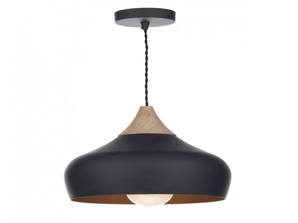 Pendant Lighting Cheap Black Wood Light