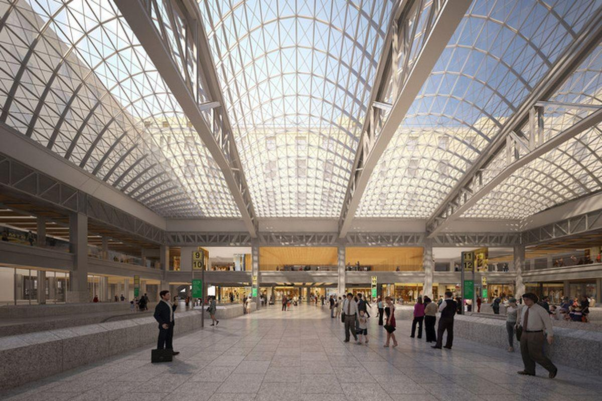 Penn Station Renovation Plans Revealed Curbed
