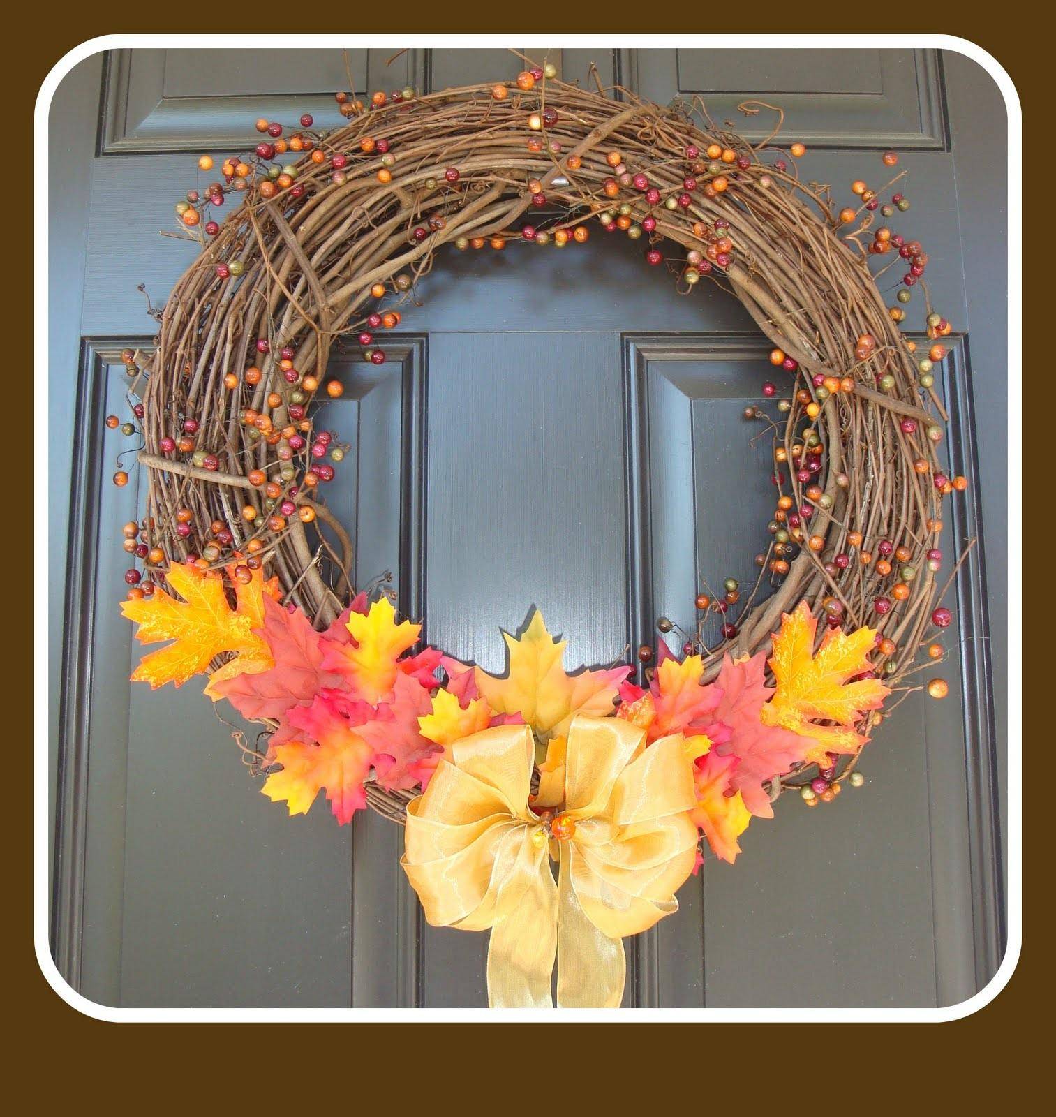 Penny Parlor Fall Wreath Minutes
