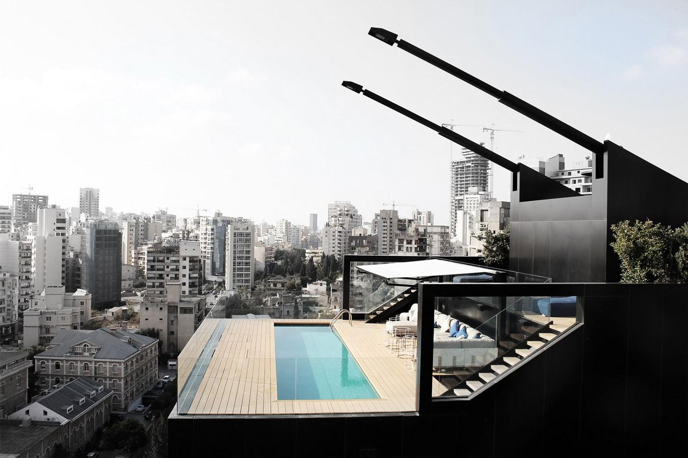 Penthouse Apartment Interesting Layout Beirut
