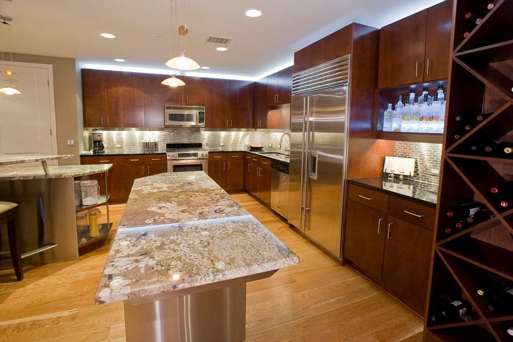 Penthouse Kitchen Remodel Before After Interior