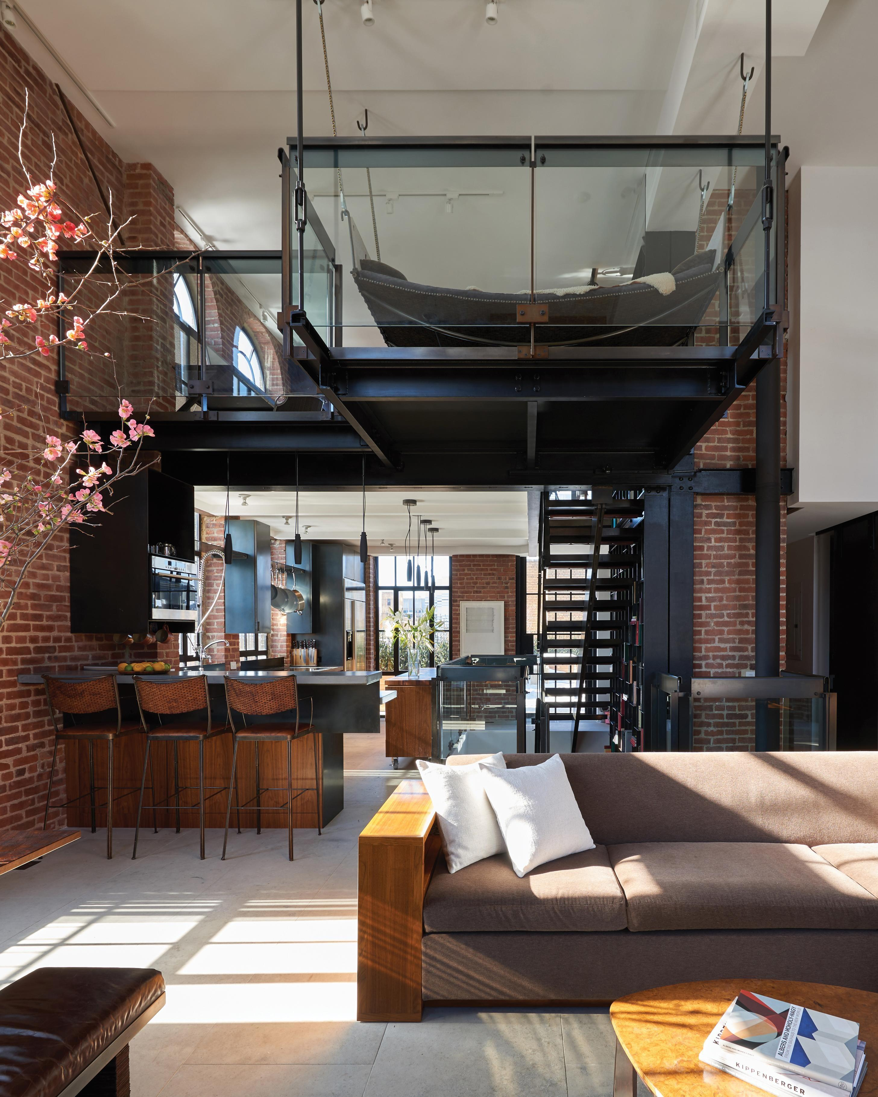 Penthouse Loft Built Converted Water Tower Nyc