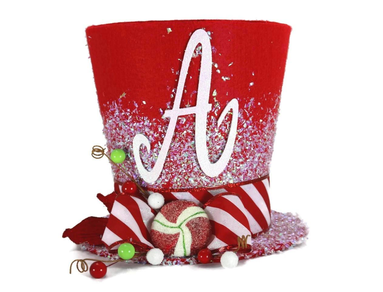 Peppermint Christmas Decoration Whimsical Tree Topper