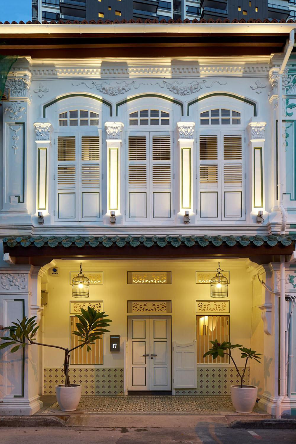 Peranakan Shophouse Transformed Ong Into Modern