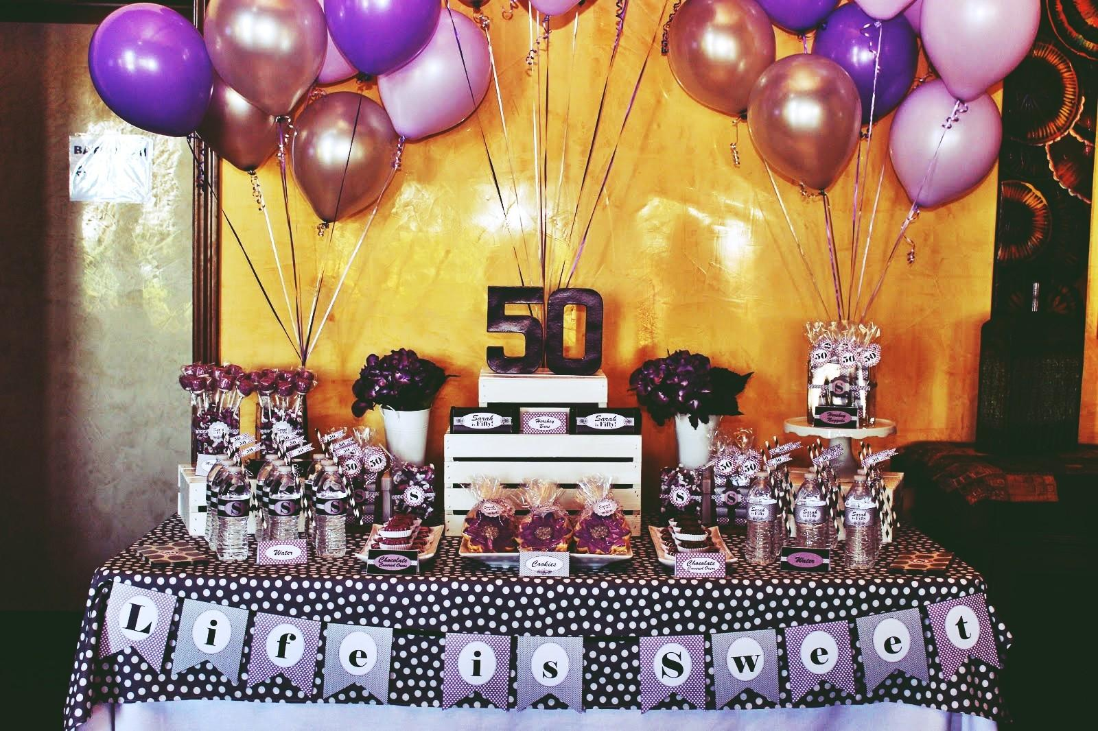 Perfect 50th Birthday Party Themes Youbirthday Inspire