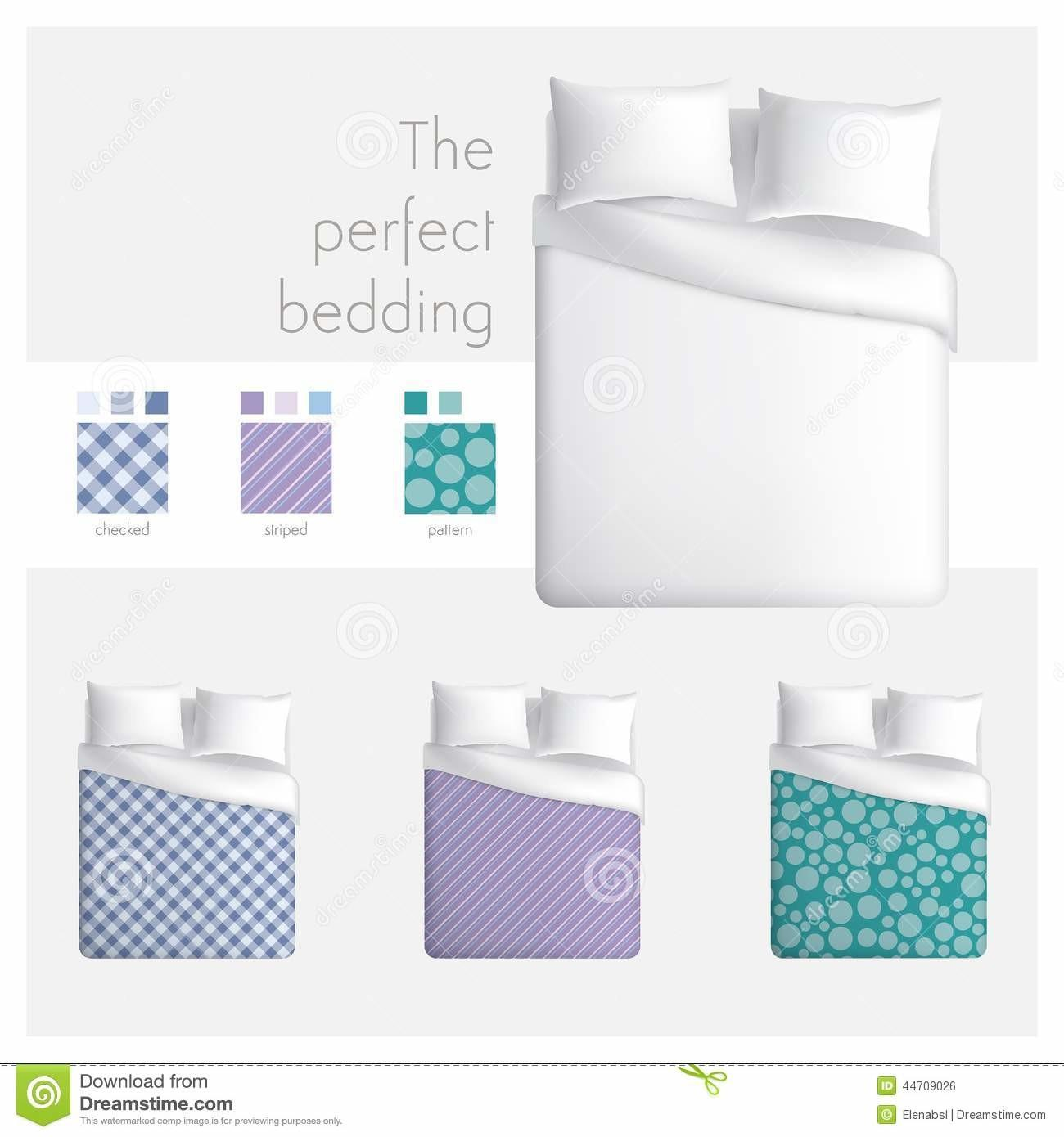 Perfect Bedding Stock Vector