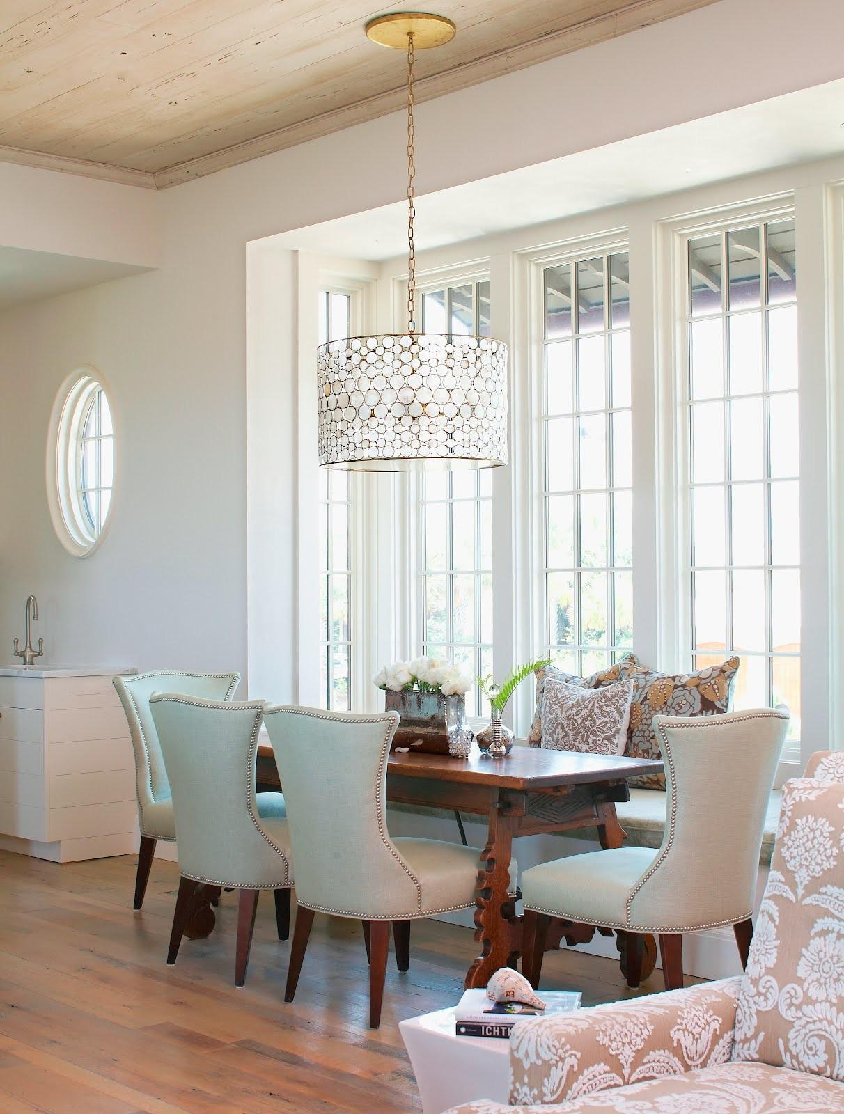 Perfect Coastal Dining Room Table Antique
