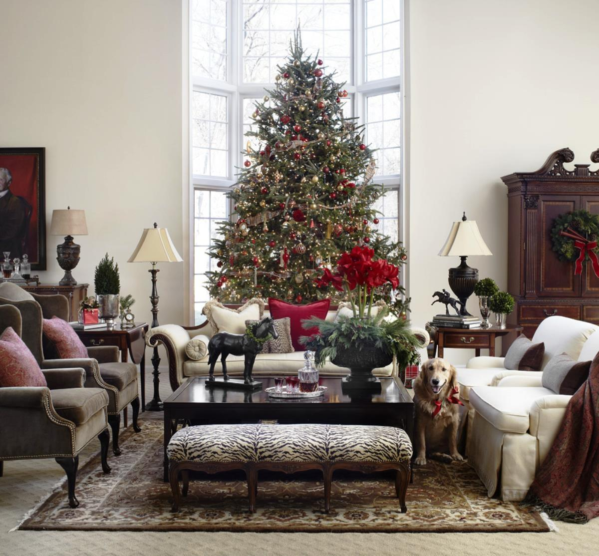 Perfect Living Room Christmas Decorations Hd9d15 Tjihome