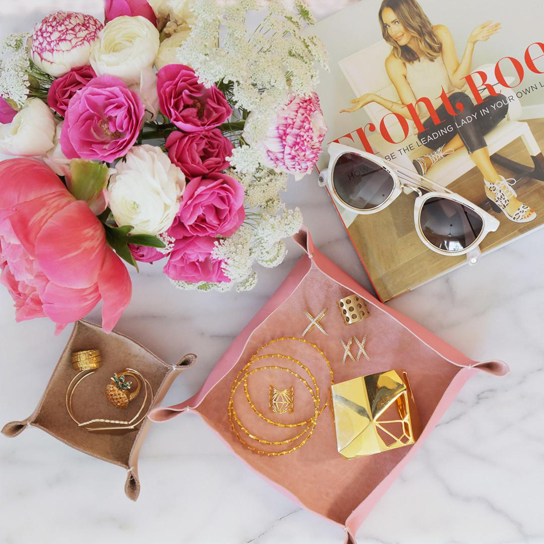 Perfect Mother Day Diy Leather Tray Front Roe