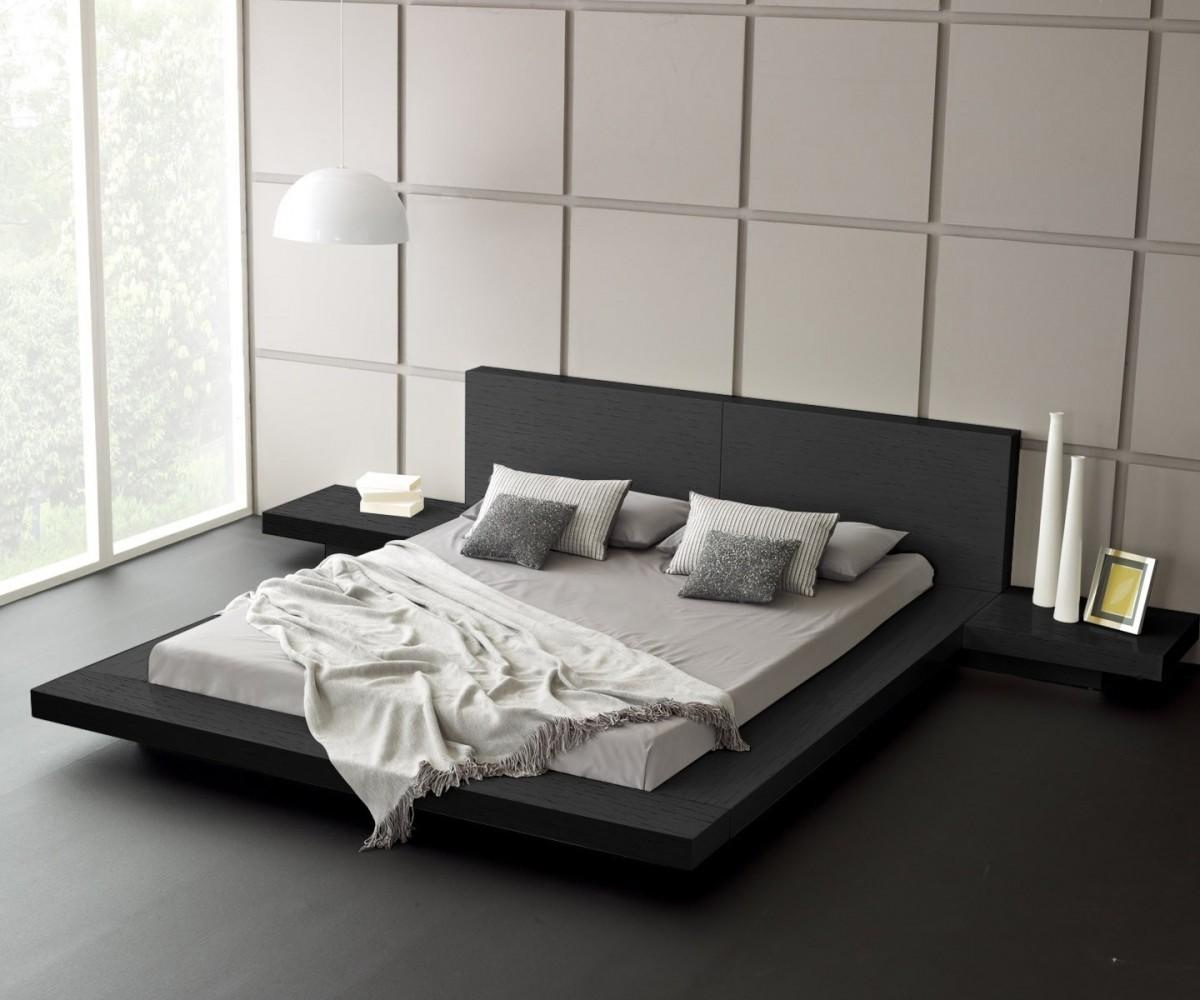 Perfect Spain Wood End Platform Bed Then Master