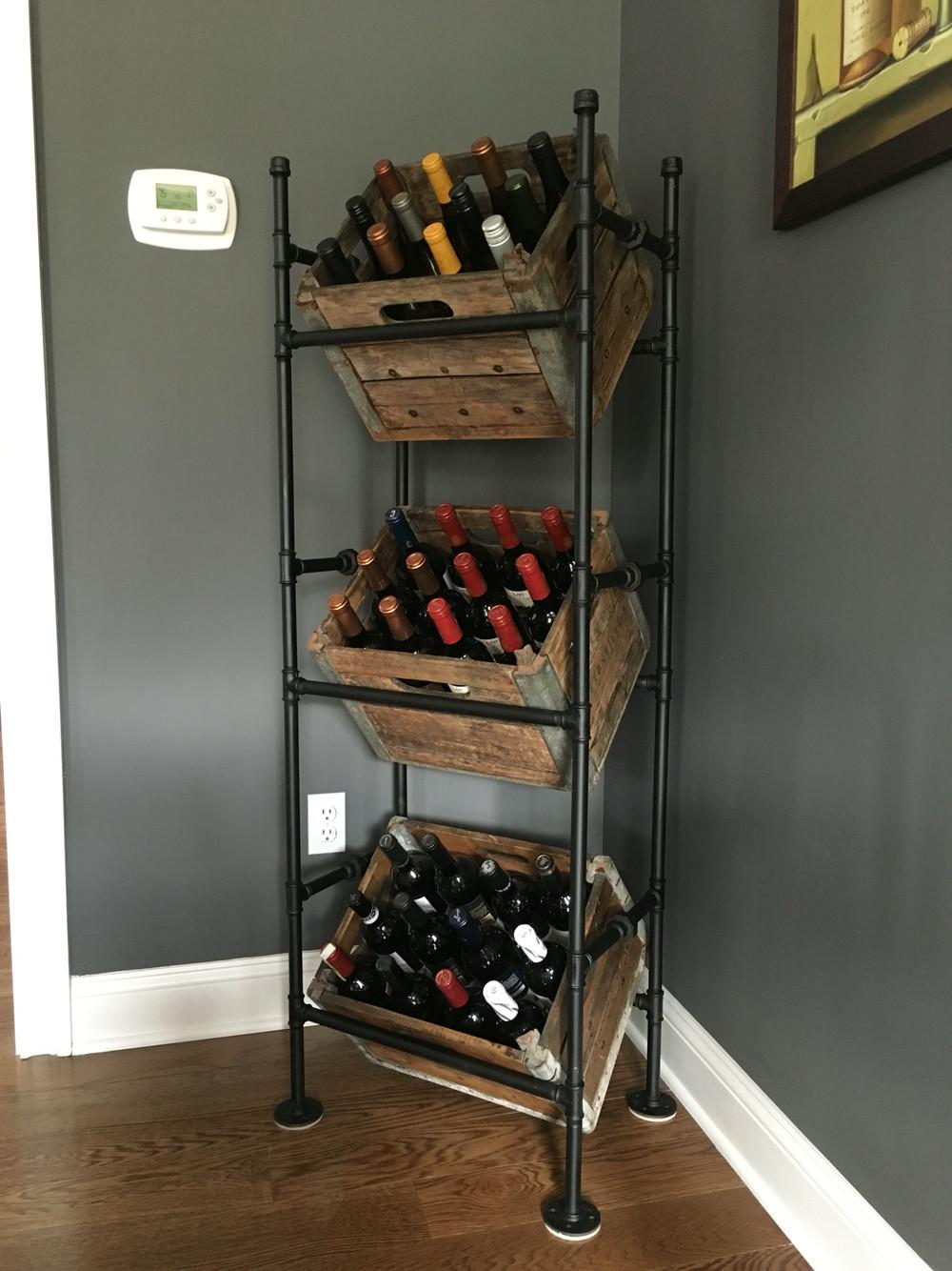 Perfect Your Bar Best Diy Wine Rack Ideas