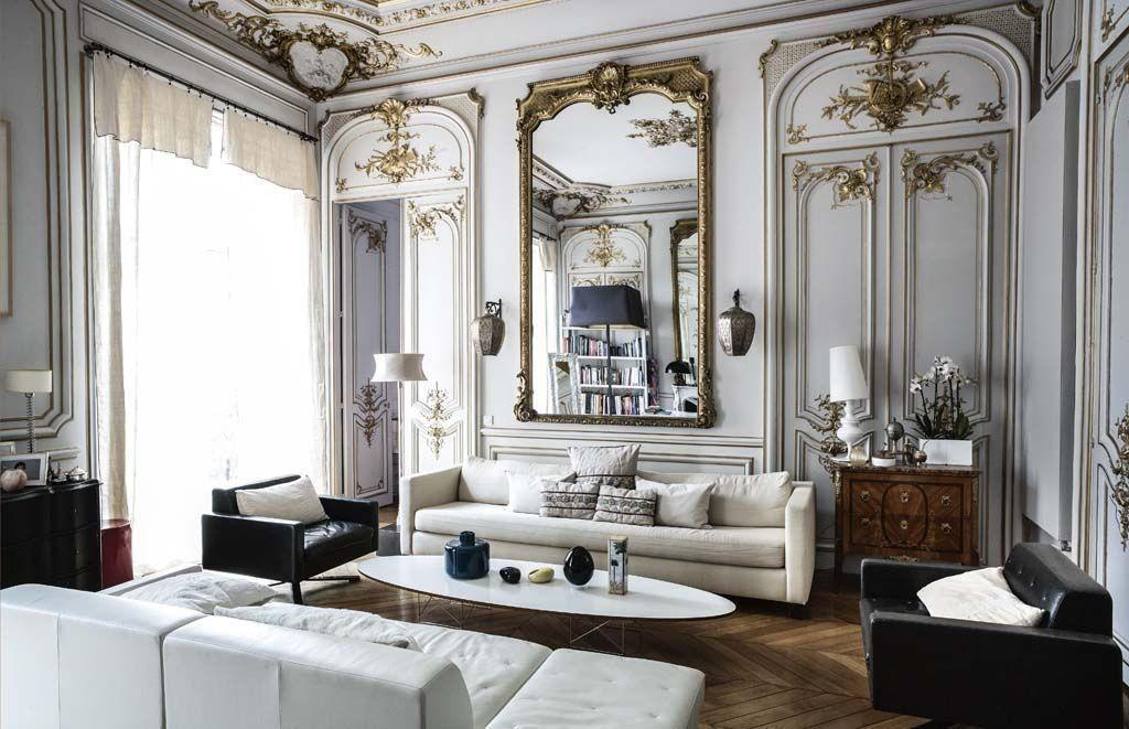 Perfectly Chic Parisian Apartment Quintessence