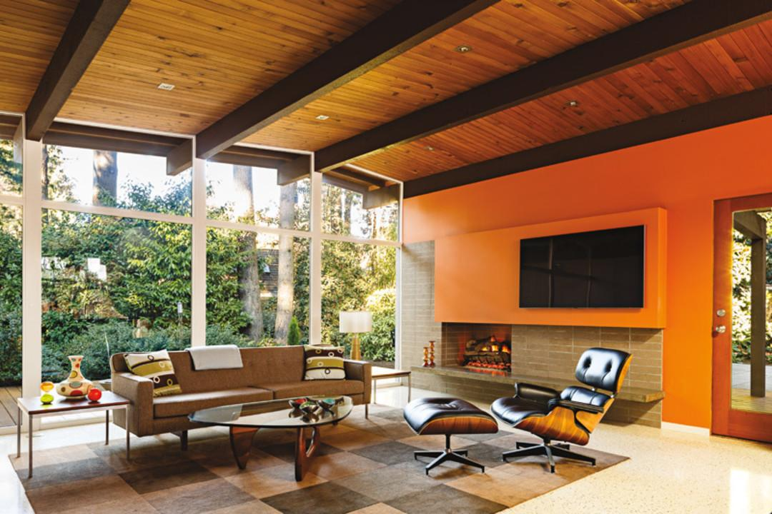 Period Perfect Midcentury Renovation Portland Monthly
