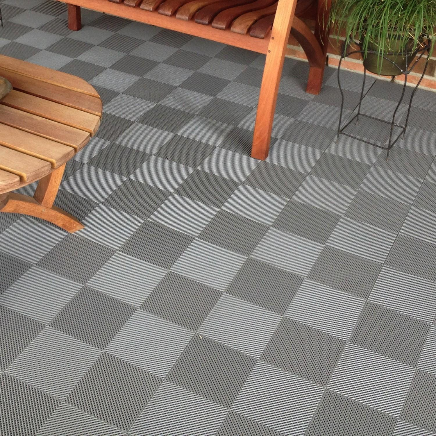 Personable Small Backyard Ideas Bright Tiles Cozy