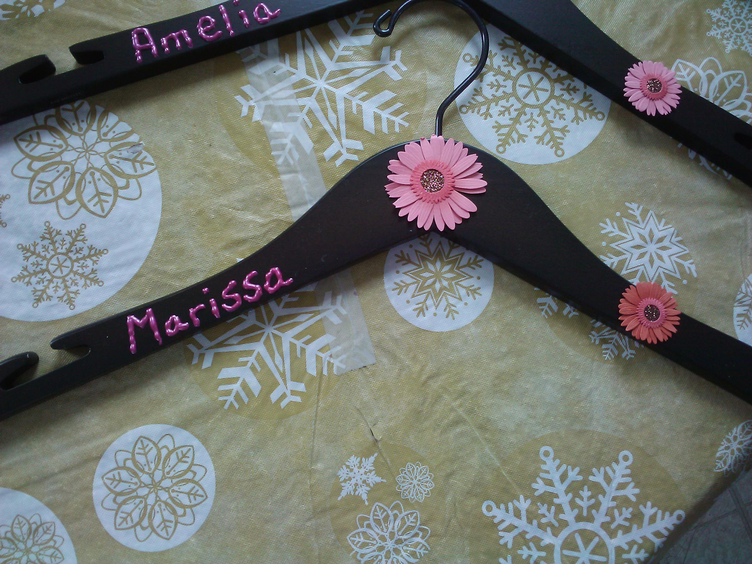 Personalized Bridal Party Hangers Diy Playground
