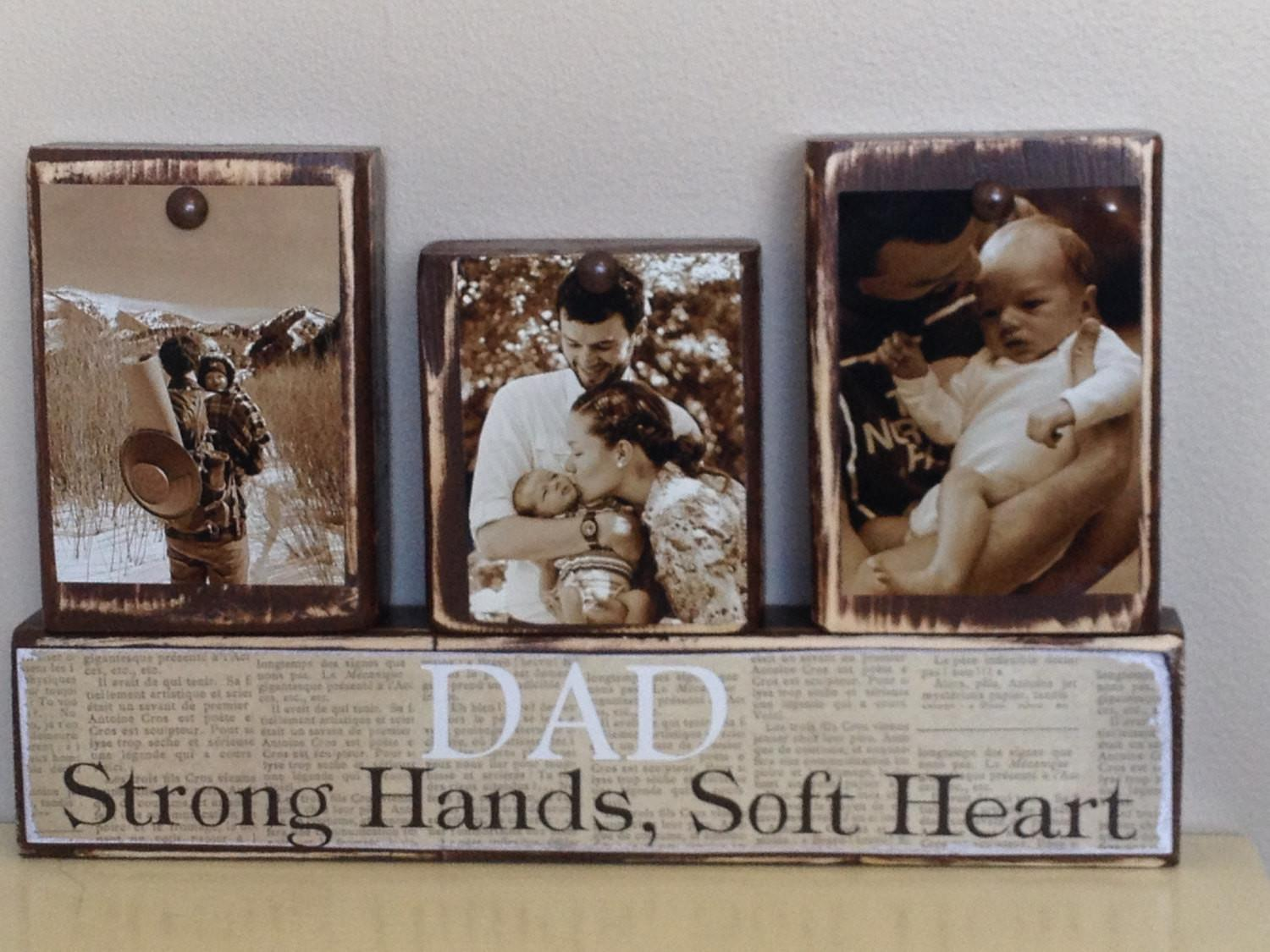 Personalized Fathers Day Gift First Dad
