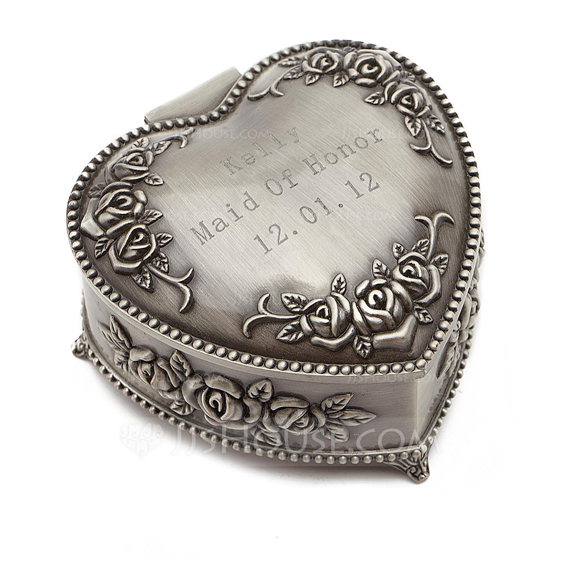 Personalized Vintage Style Zinc Alloy Jewelry Holders