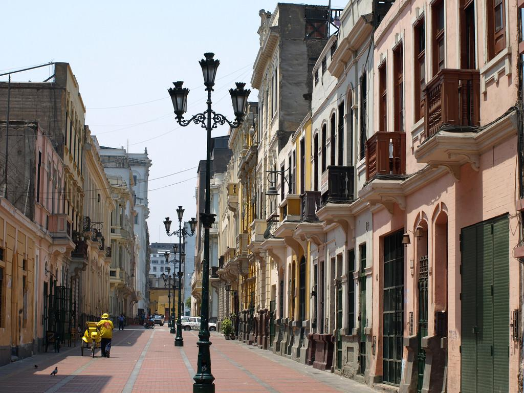 Peru Travel Colonial Streets Lima Central Home