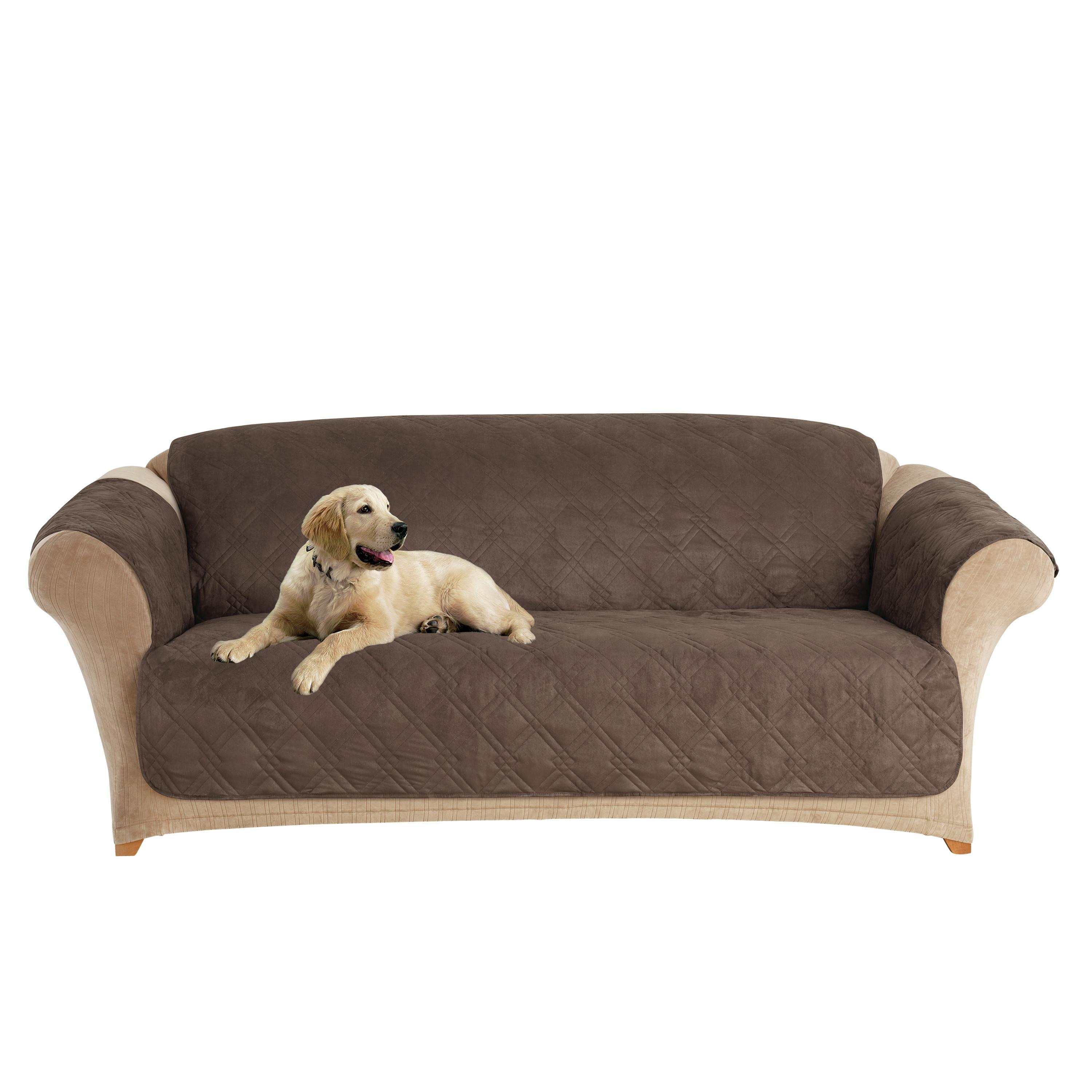 Pet Sofa Cover Stays Place